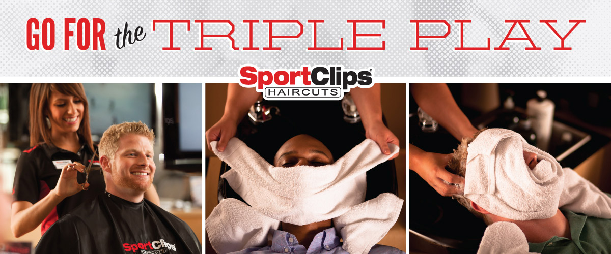The Sport Clips Haircuts of The Colony/Lewisville Triple Play